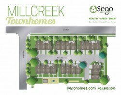 Millcreek Townhomes plan by Sego Homes at Daybreak