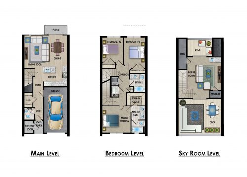 Roof Gardens Floorplan Sage