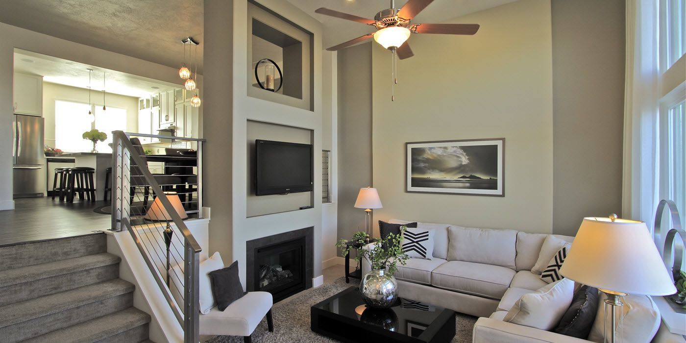 Foyer of Daybreak model home
